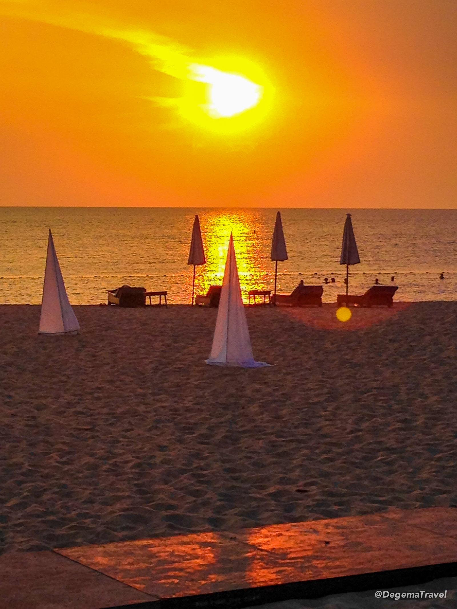 Sunset at Botony Beach Resort Pattaya, Thailand