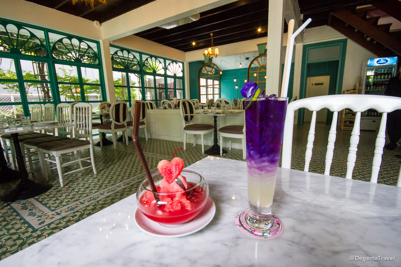Drinks at Chumchan in Phuket Town, Thailand