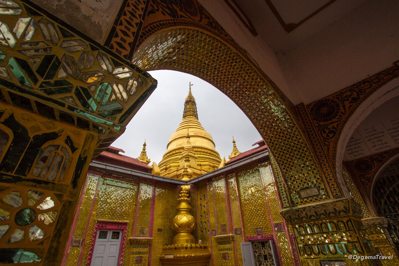 Sutaungpyae Paya in Mandalay, Myanmar