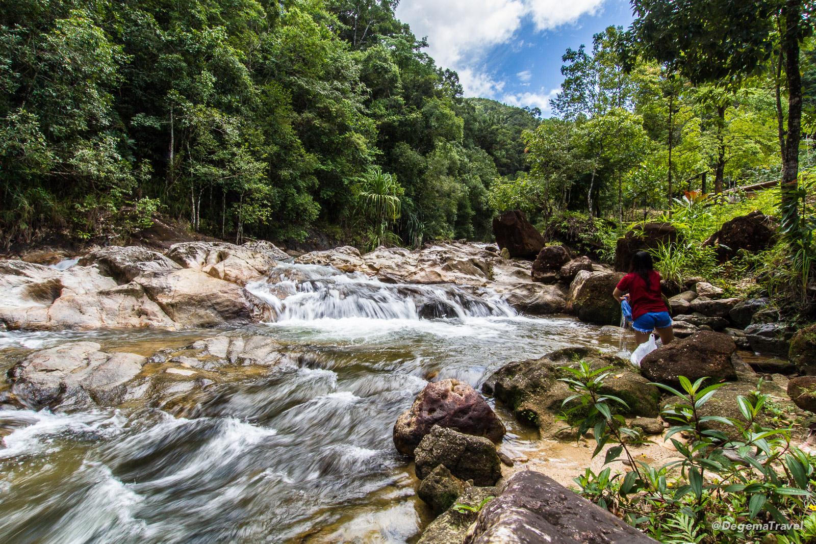Waterfalls in Ton Pariwat Wildlife Sanctuary, Thailand