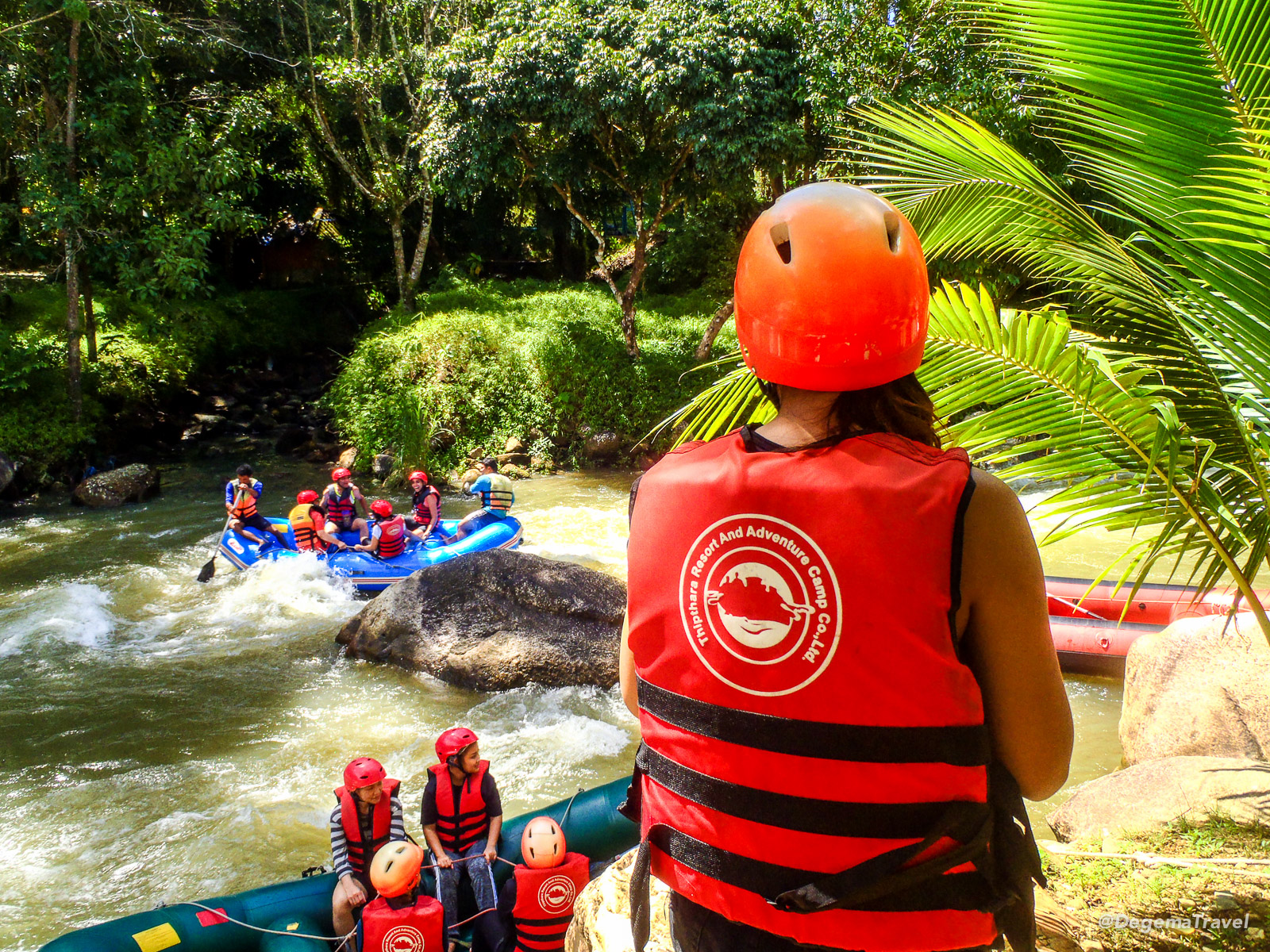 Rafting in Ton Pariwat Wildlife Sanctuary, Thailand