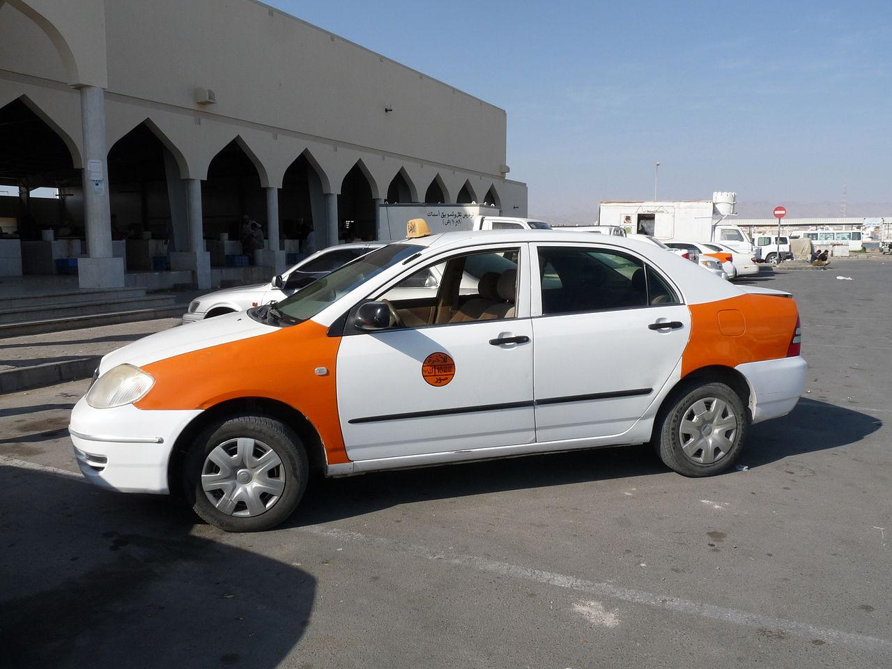 A Taxi in Sur, Oman