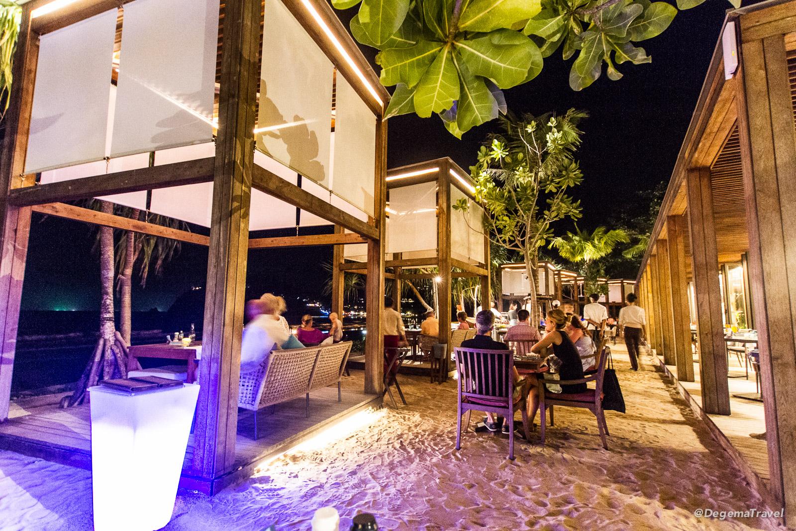 Rak Talay Restaurant at Pimalai Resort & Spa on Koh Lanta, Thailand
