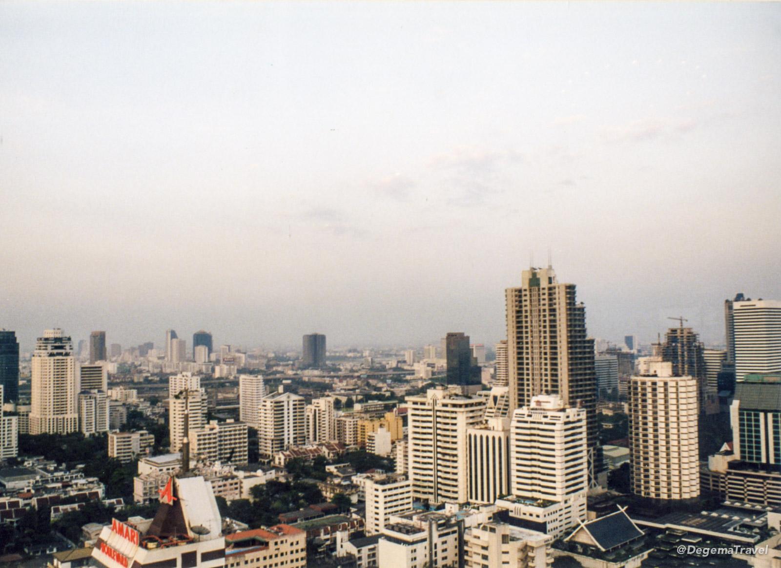 Bangkok skyline around 1999