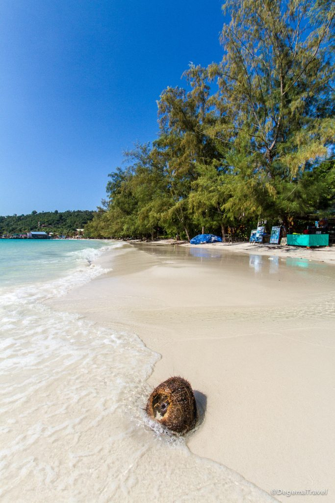 Koh Toch Beach, Koh Rong, Cambodia