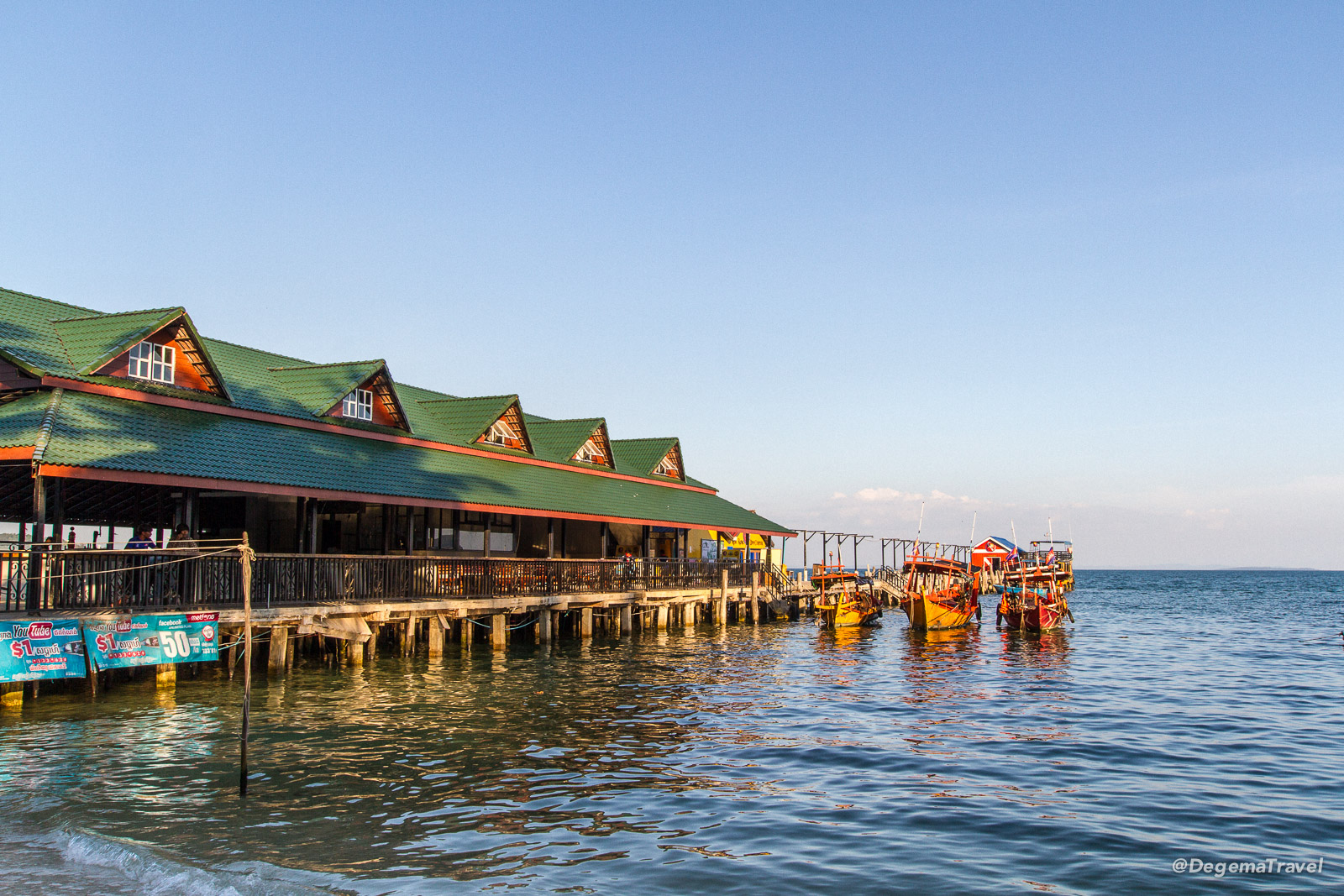 Pier in Tui Village, Koh Rong, Cambodia