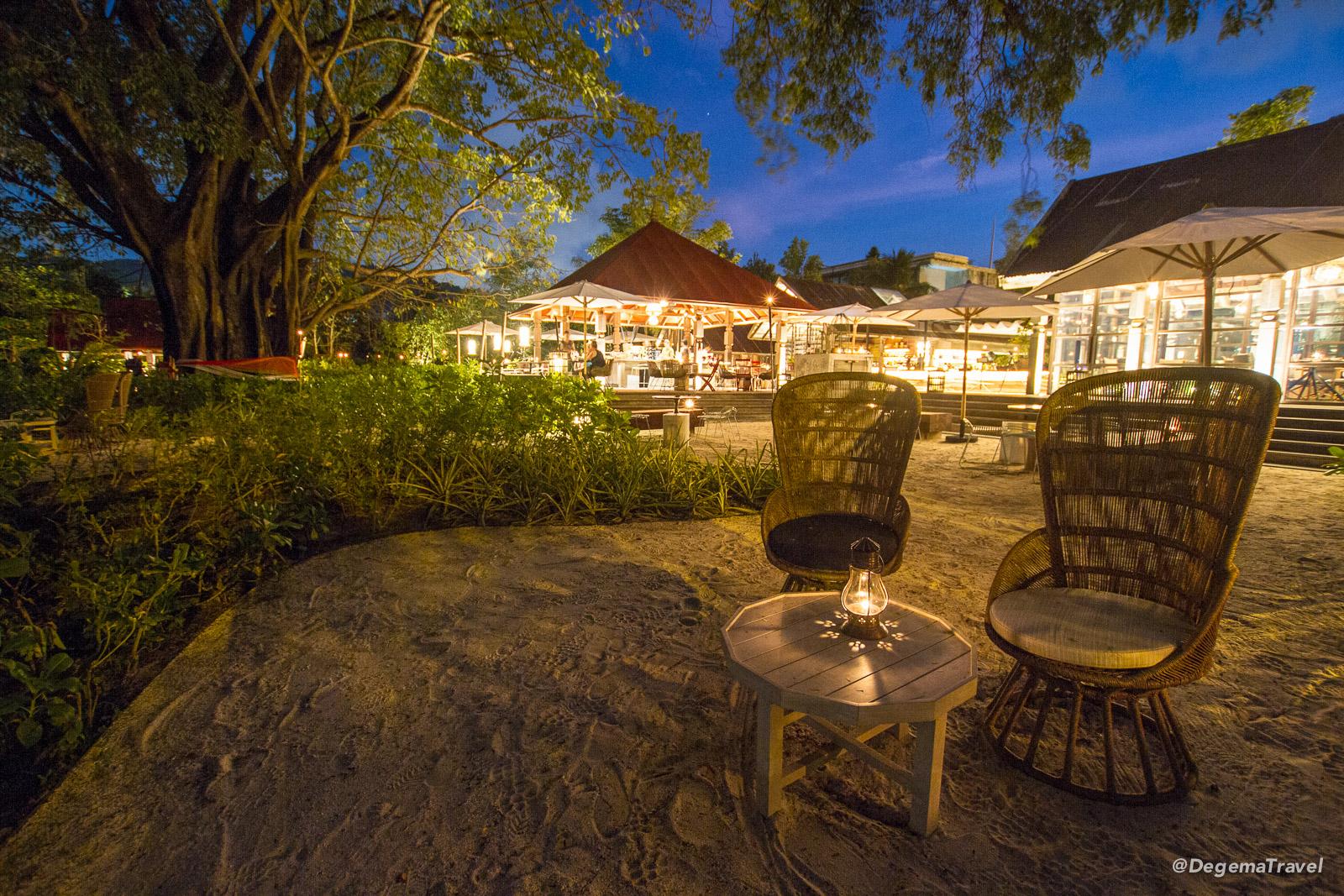 Ta Khai Restaurant near Patong in Phuket, Thailand
