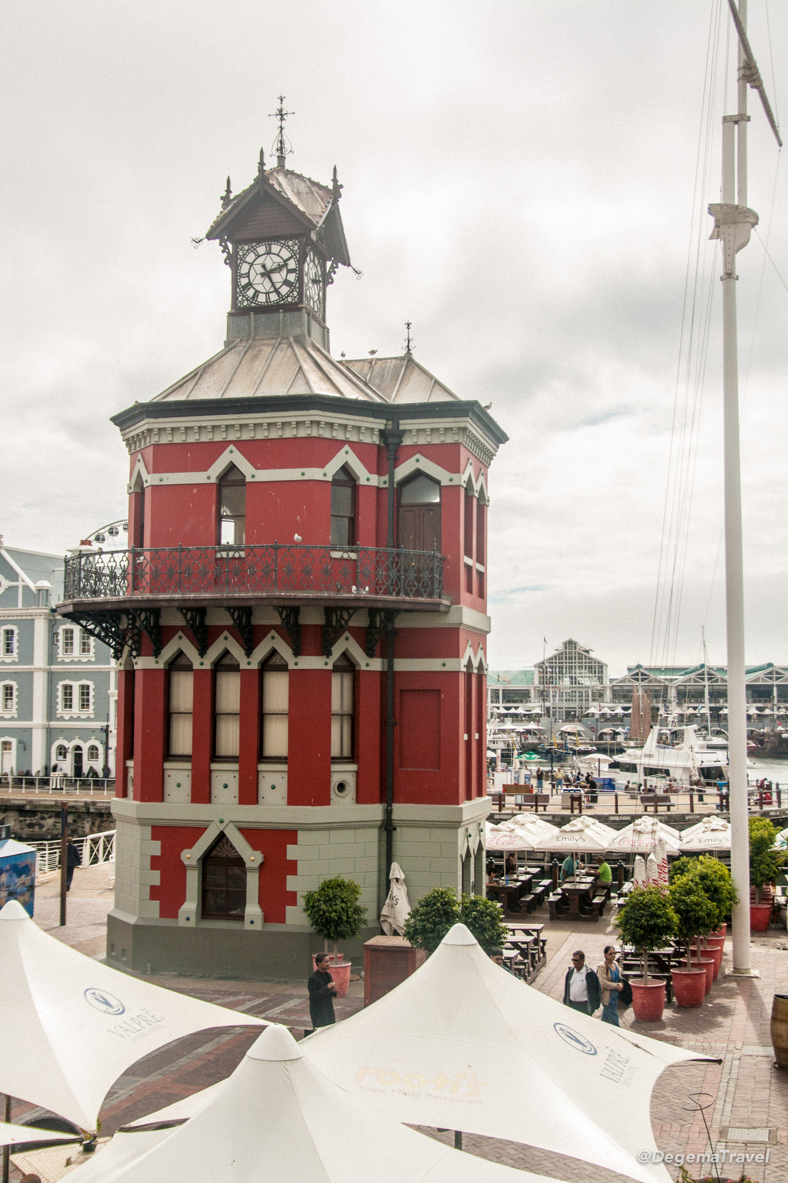 Victoria & Alfred Waterfront in Cape Town, South Africa