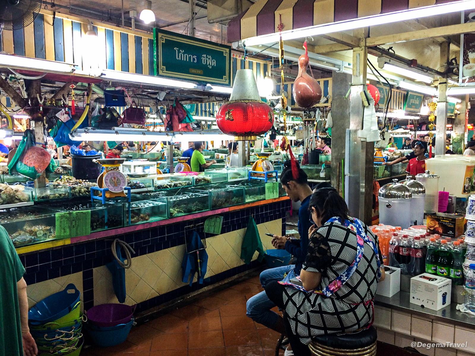 Banzaan Market in Patong, Phuket, Thailand