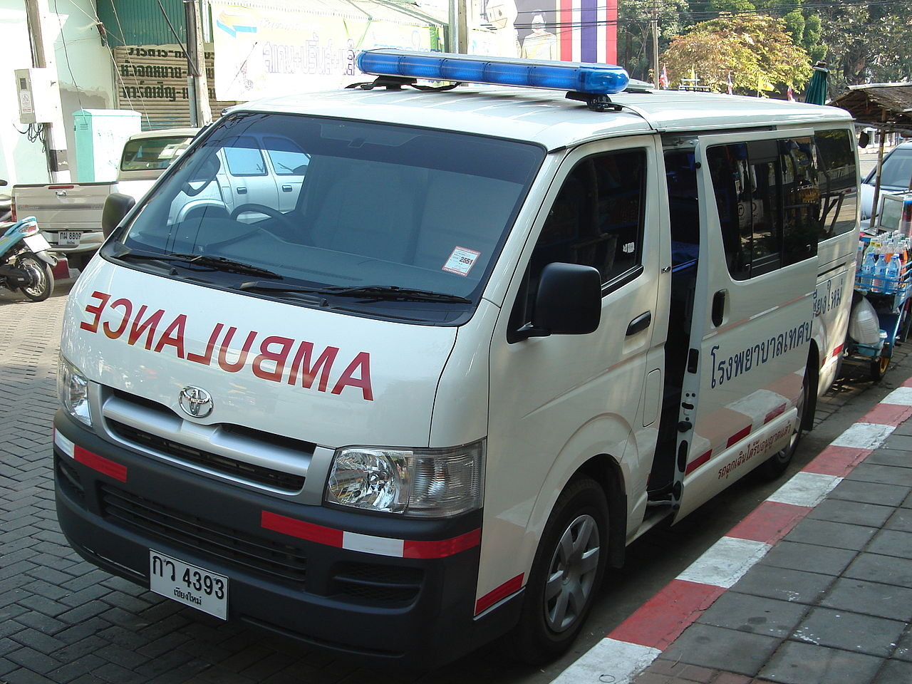 Ambulance in Thailand