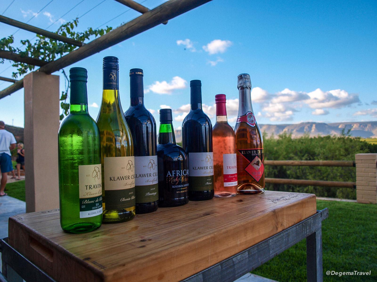 Wines from Highlander Vineyard, South Africa