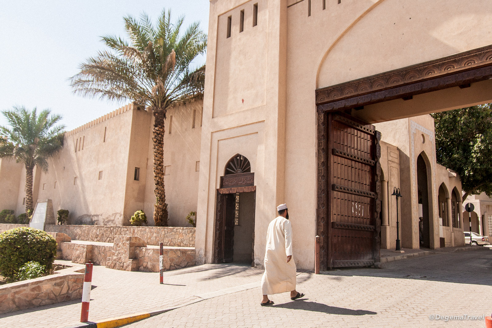 Entrance to the old part of Nizwa, Oman