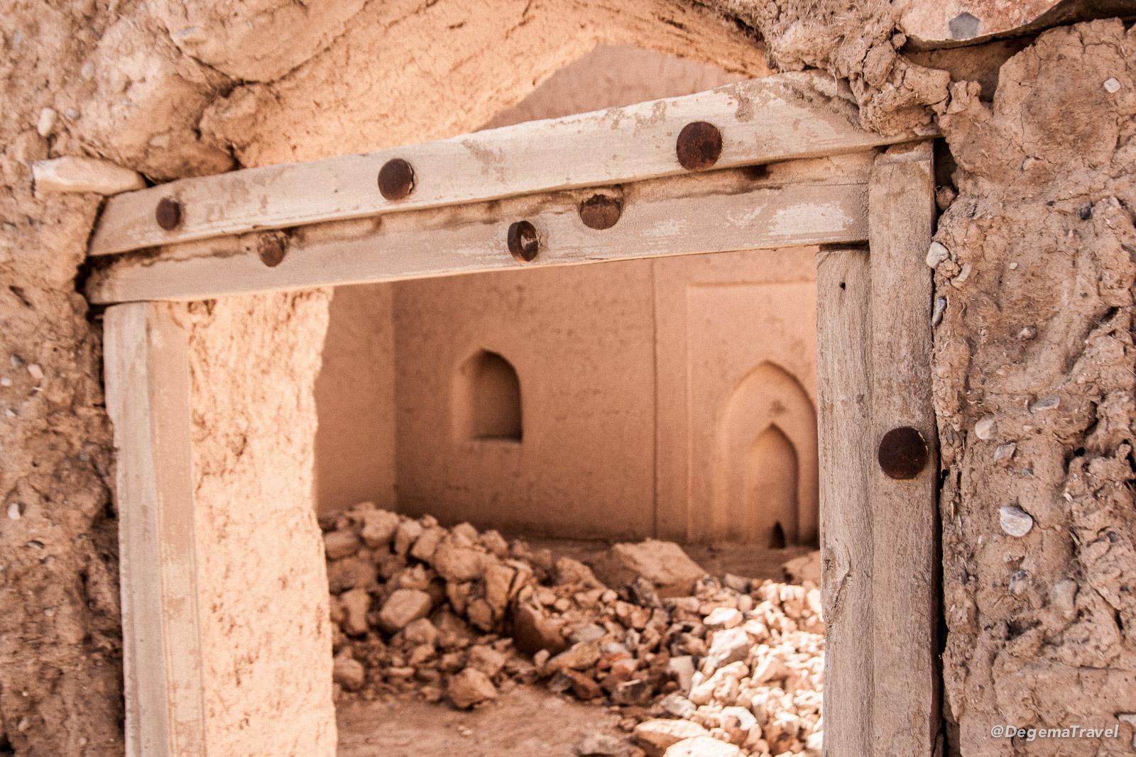 The ruins of Tanuf, Oman