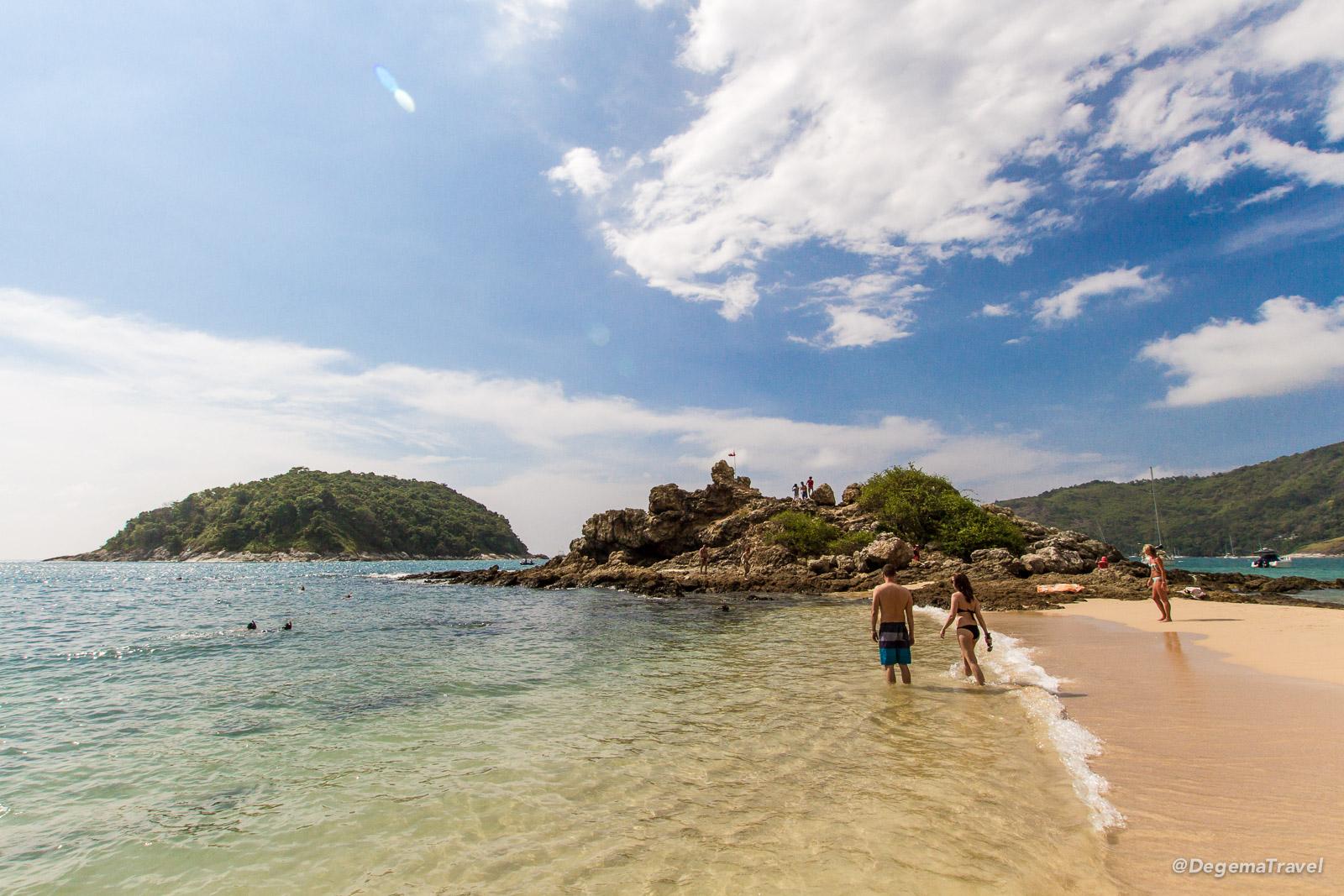 Ya Nui Beach in Phuket, Thailand