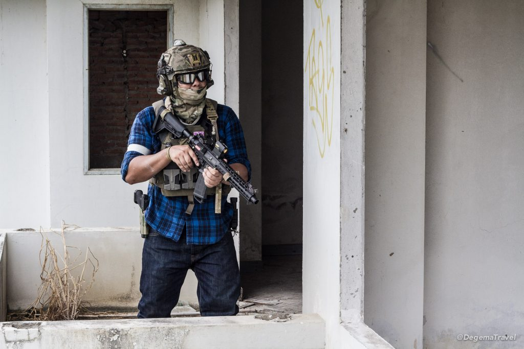 Airsoft in Phayun Beach Condo in Rayong, Thailand