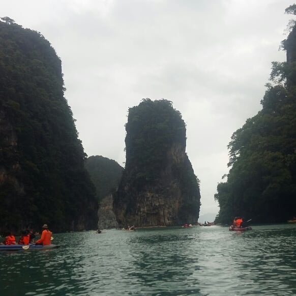 Koh Hong in Phang Nga Bay, Thailand