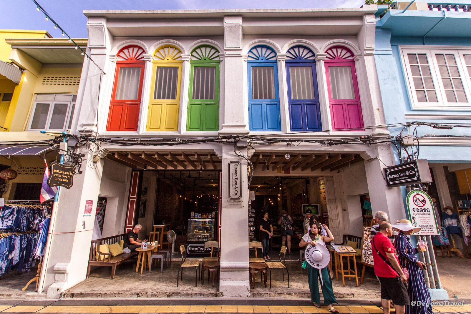 Phuket Town Walking Street Market, Phuket, Thailand