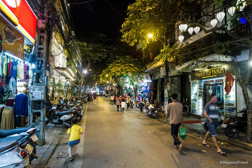 Old Quarter in Hanoi, Vietnam
