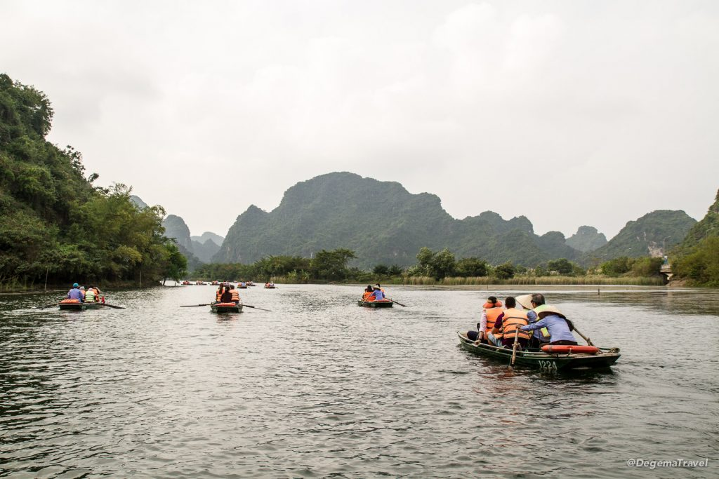 Trang An in Ninh Binh, Vietnam
