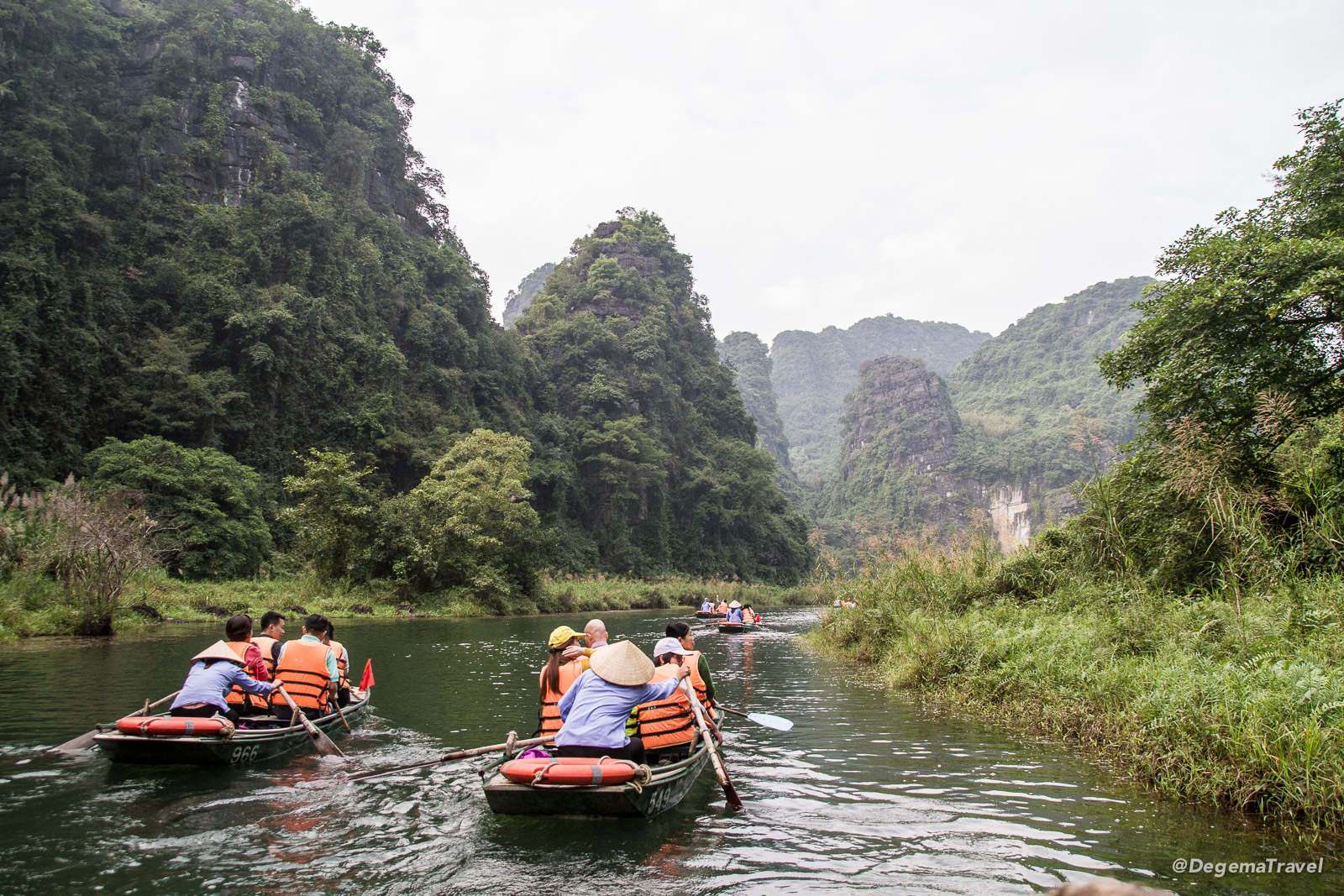Playing the Tourist in Tam Coc