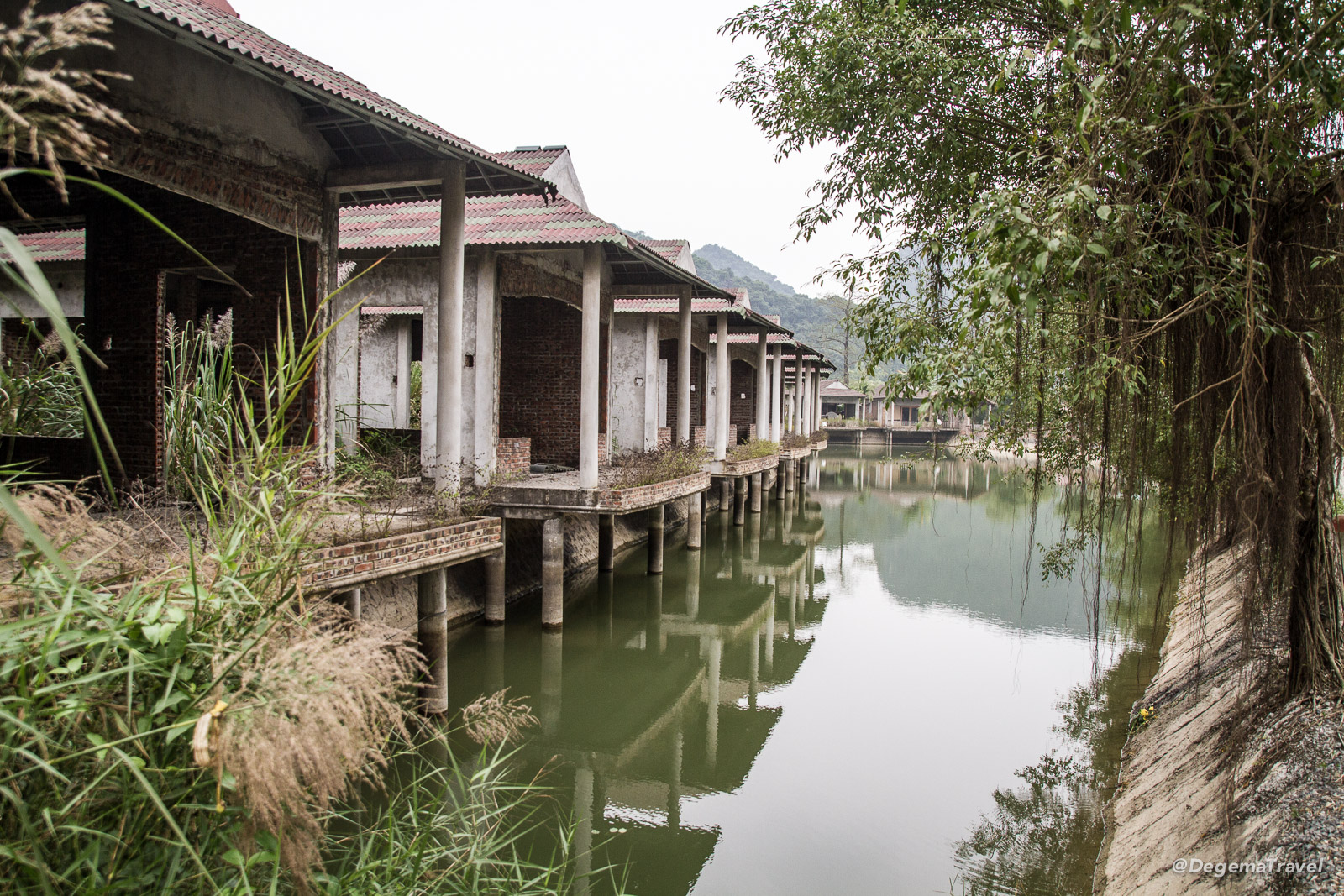 Abandoned hotel project near Ninh Binh, Vietnam