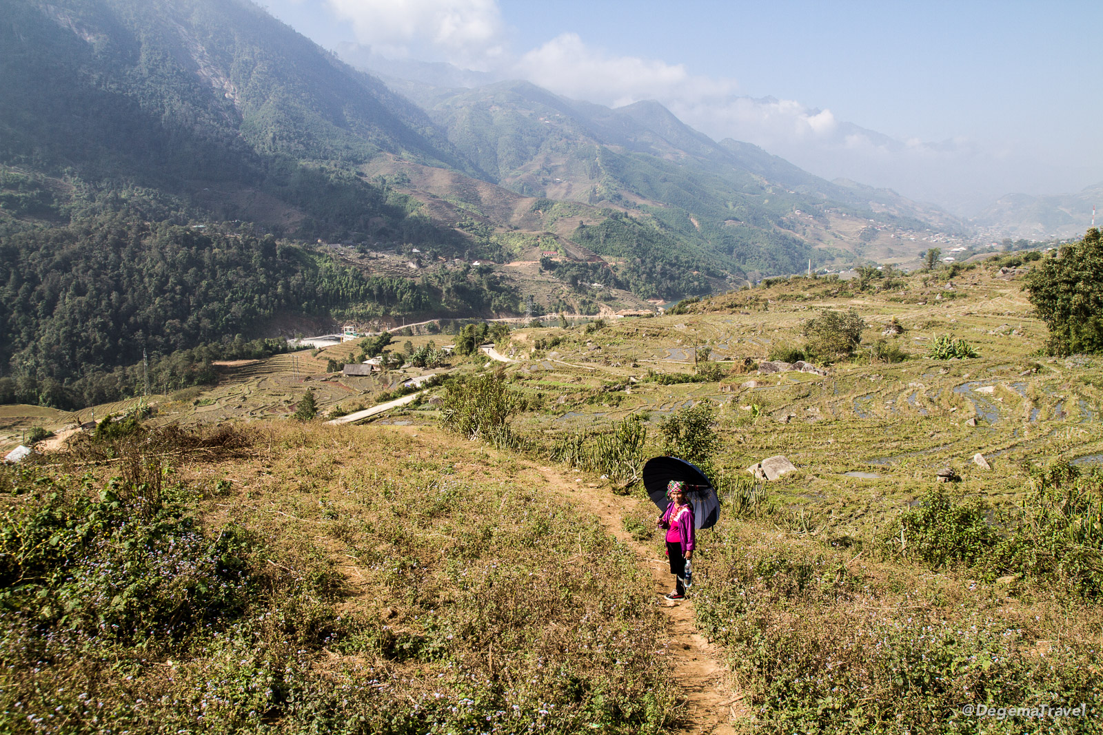 Mama Chu in the Mường Hoa Valley near Sapa, Vietnam