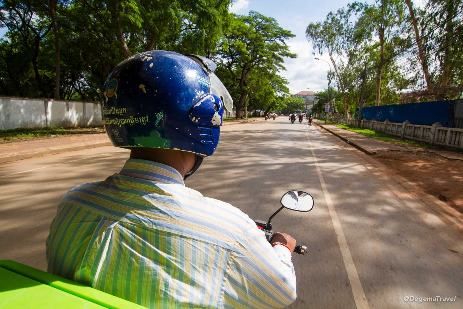 Taxi driver in Siem Reap, Cambodia