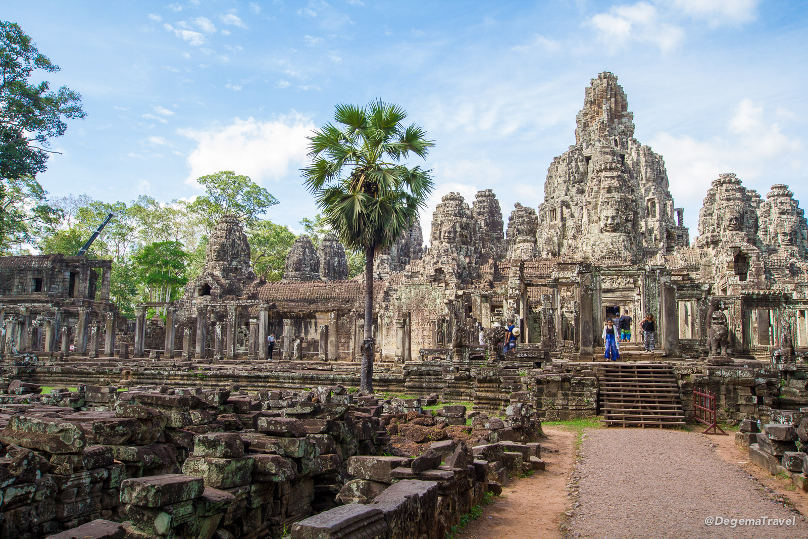 Bayon Temple near Siem Reap, Cambodia
