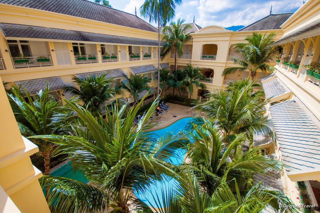 Second pool at Manathai Koh Samui