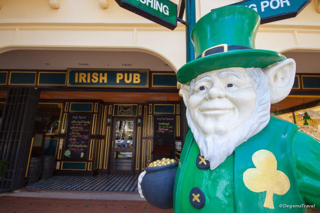 Irish bar at Manathai Koh Samui