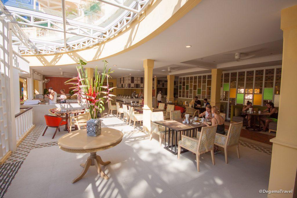 Dining room at Manathai Koh Samui