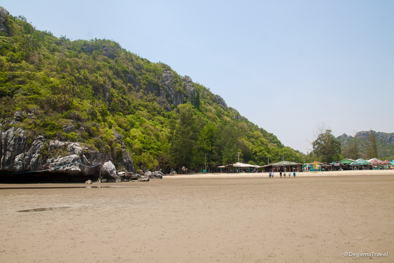 The beach at Khao Sam Roi Yot National Park, Thailand