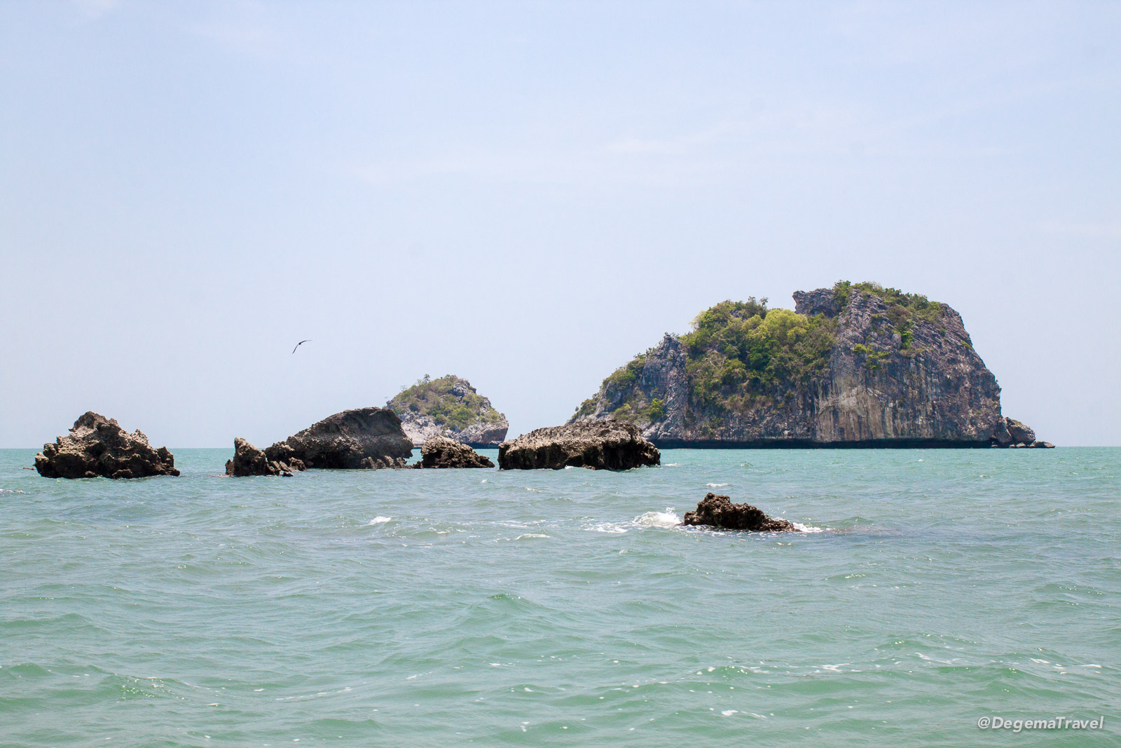 The disappointing islands of Khao Sam Roi Yot National Park, Thailand