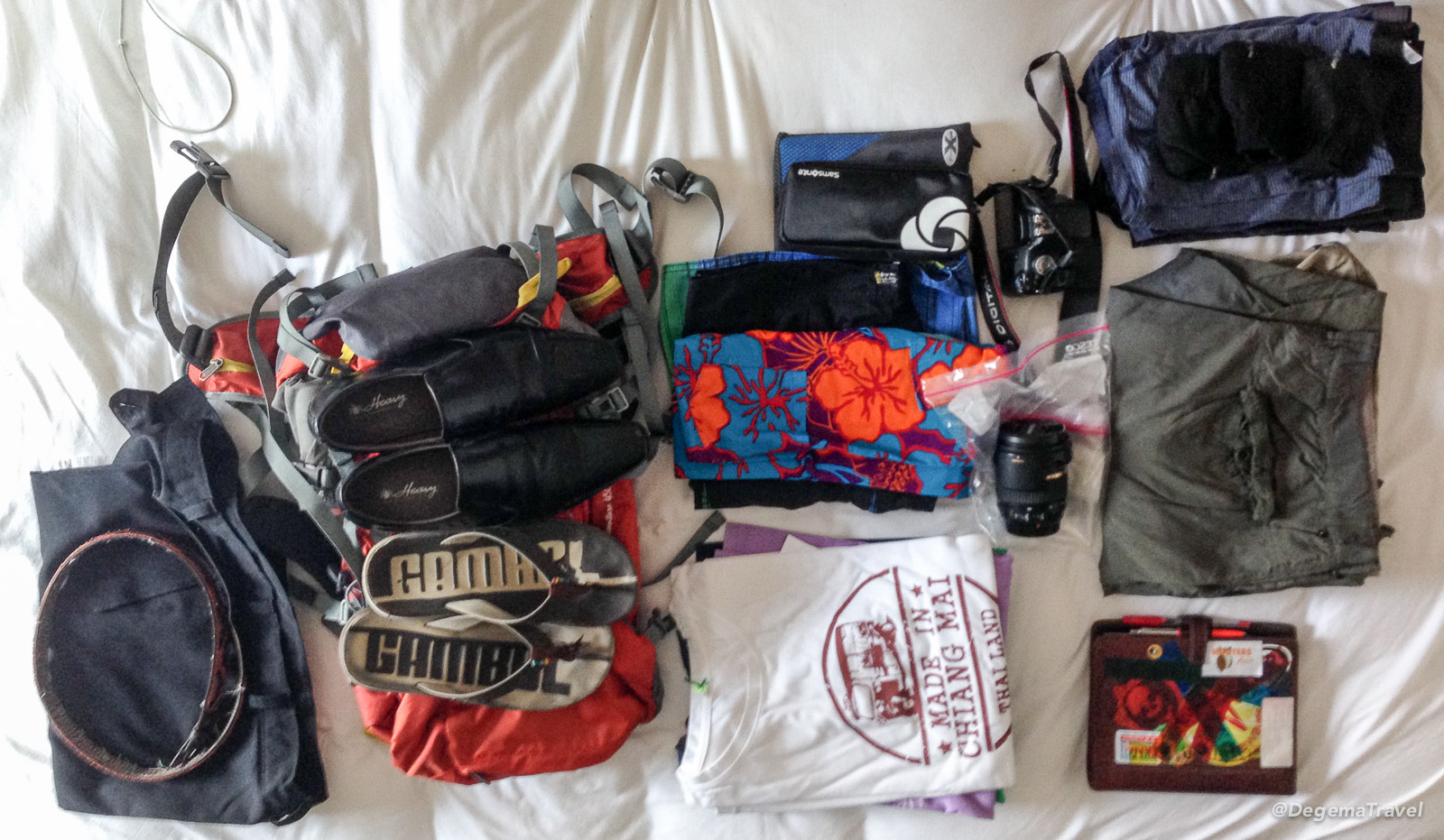 Packing for Songkran 2016