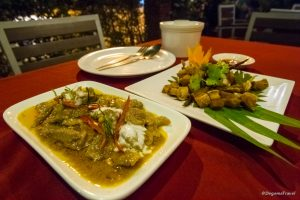 Food at Kaab Gluay in Patong, Phuket, Thailand