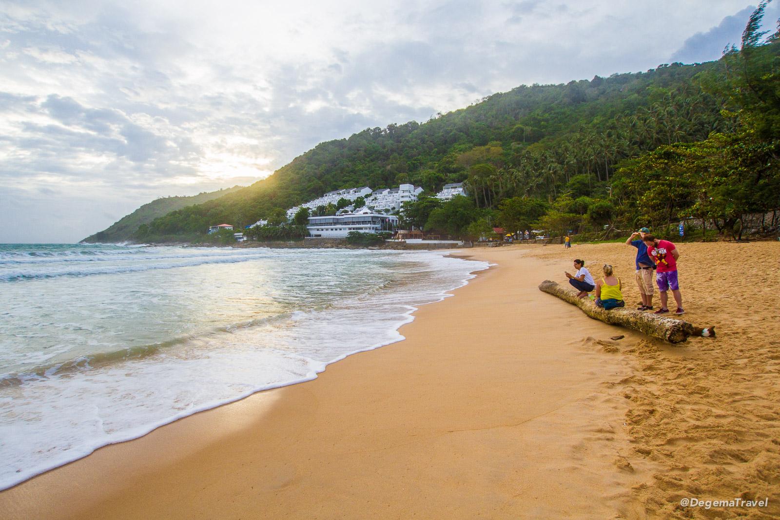 Nai Harn Beach in Phuket, Thailand