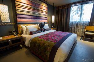 Bedroom of the Honeymoon Villa at Nook Dee Boutique Hotel in Phuket, Thailand