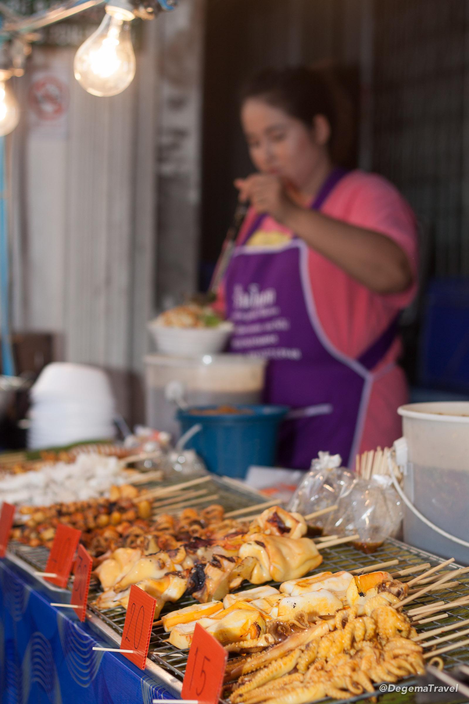 Street food in Phuket Town, Thailand