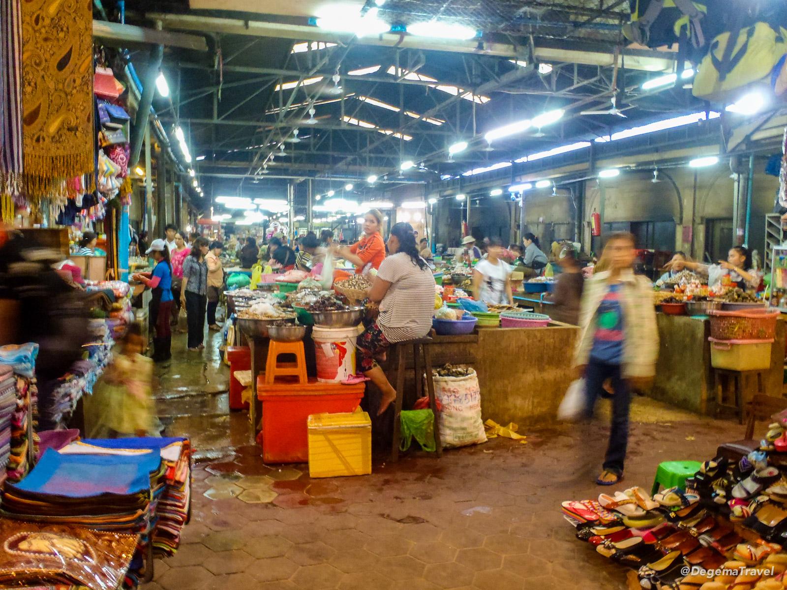 Siem Reap Old Market, Cambodia