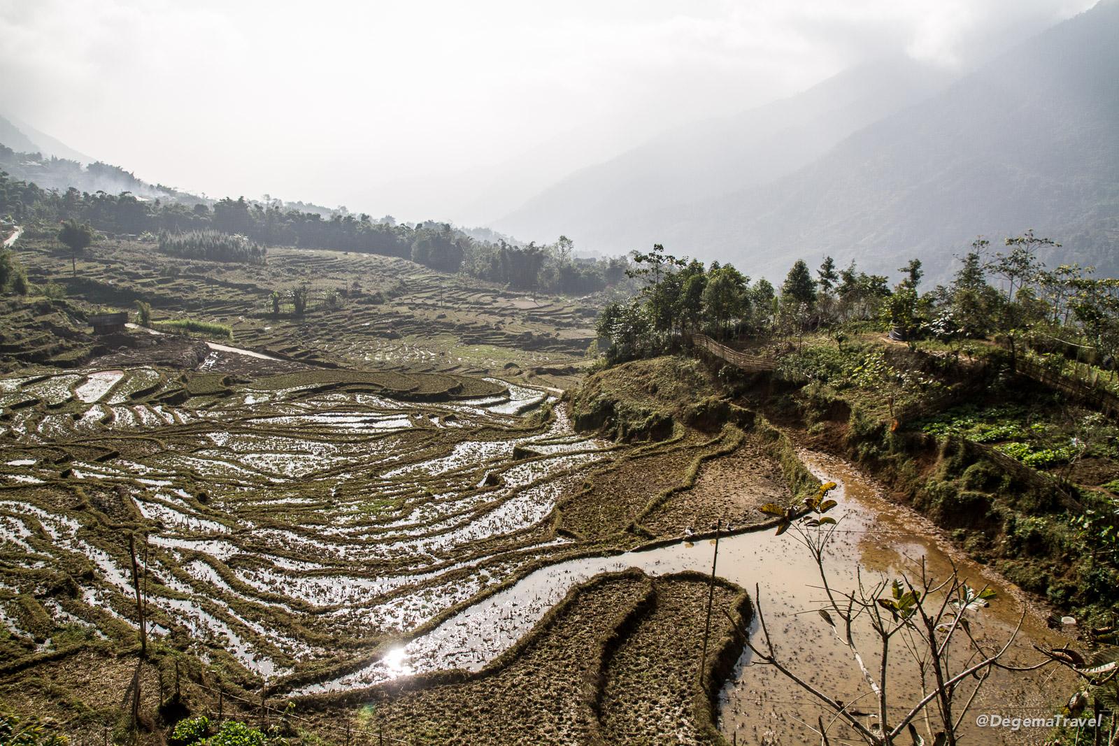 Mường Hoa Valley near Sapa, Vietnam