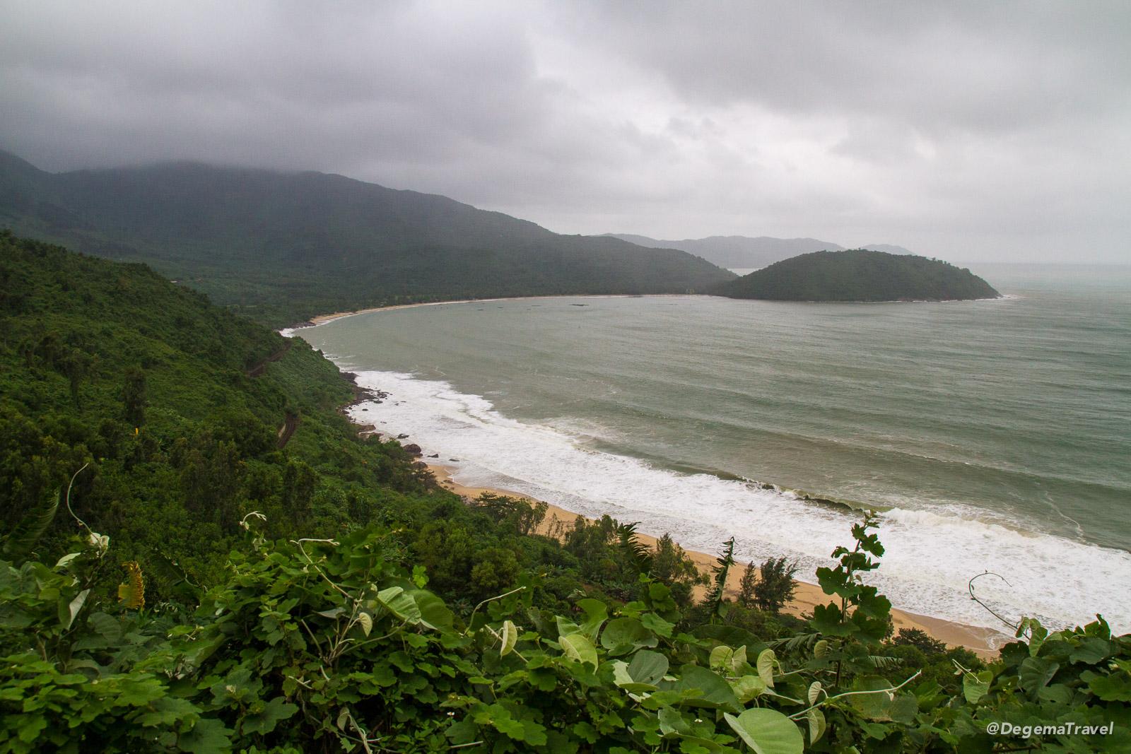 Làng Vân Beach near Da Nang, Vietnam