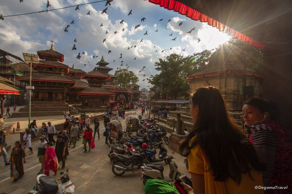 Doing the Tourist Thing in Thamel