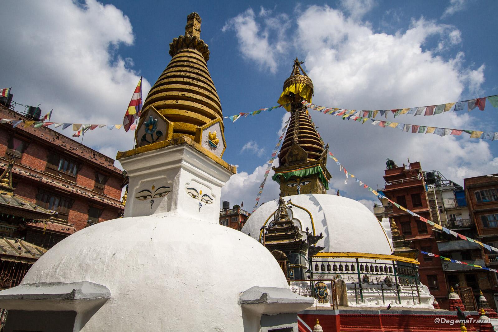 Kaathe Swyambhu Shree Gha Chaitya in Kathmandu, Nepal