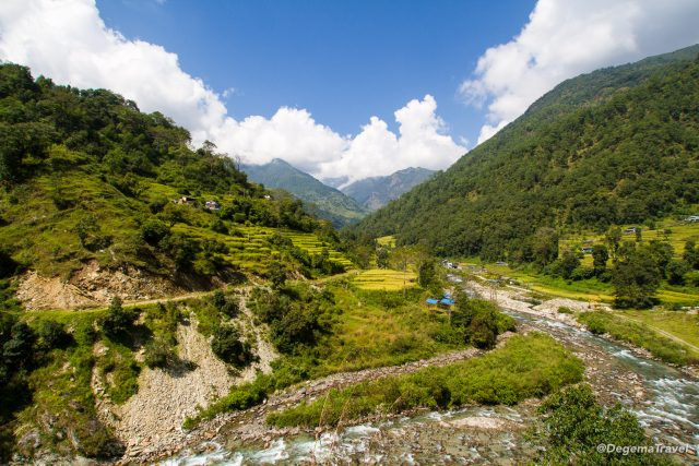 Annapurna Loop to Poon Hill, Day 1 – Endless Stairs to Ulleri