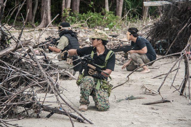 The Battle of Thung Thale Beach
