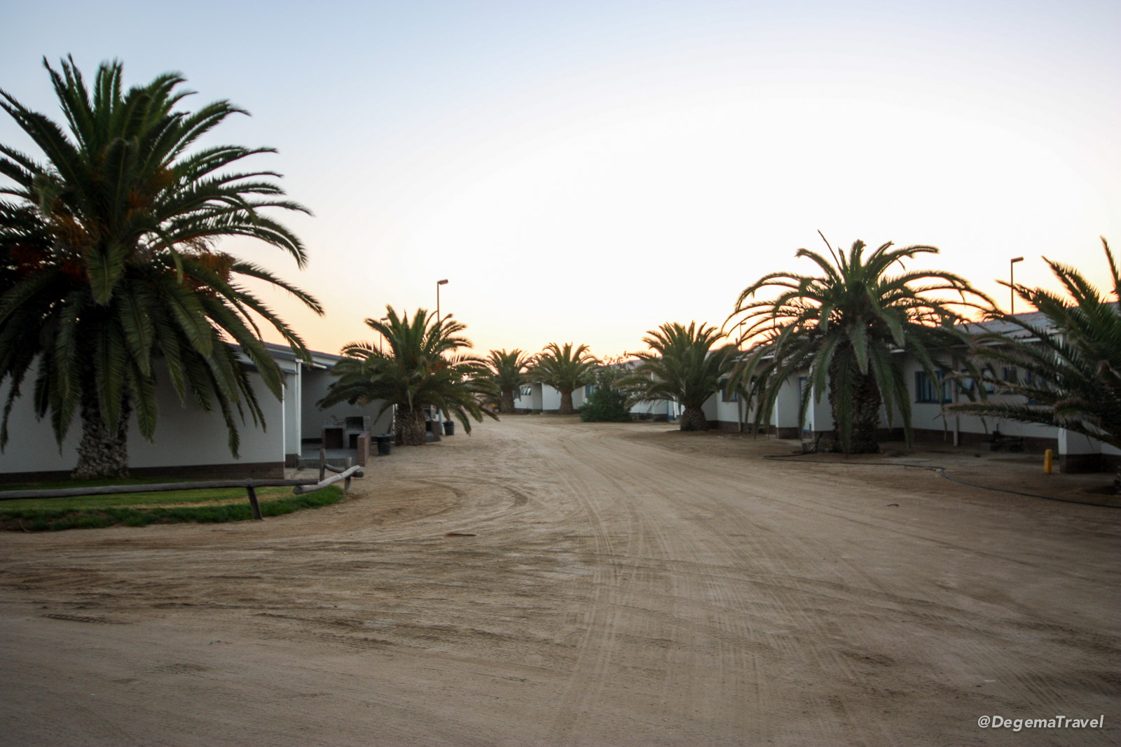 Swakopmund Municipal Restcamp, Namibia