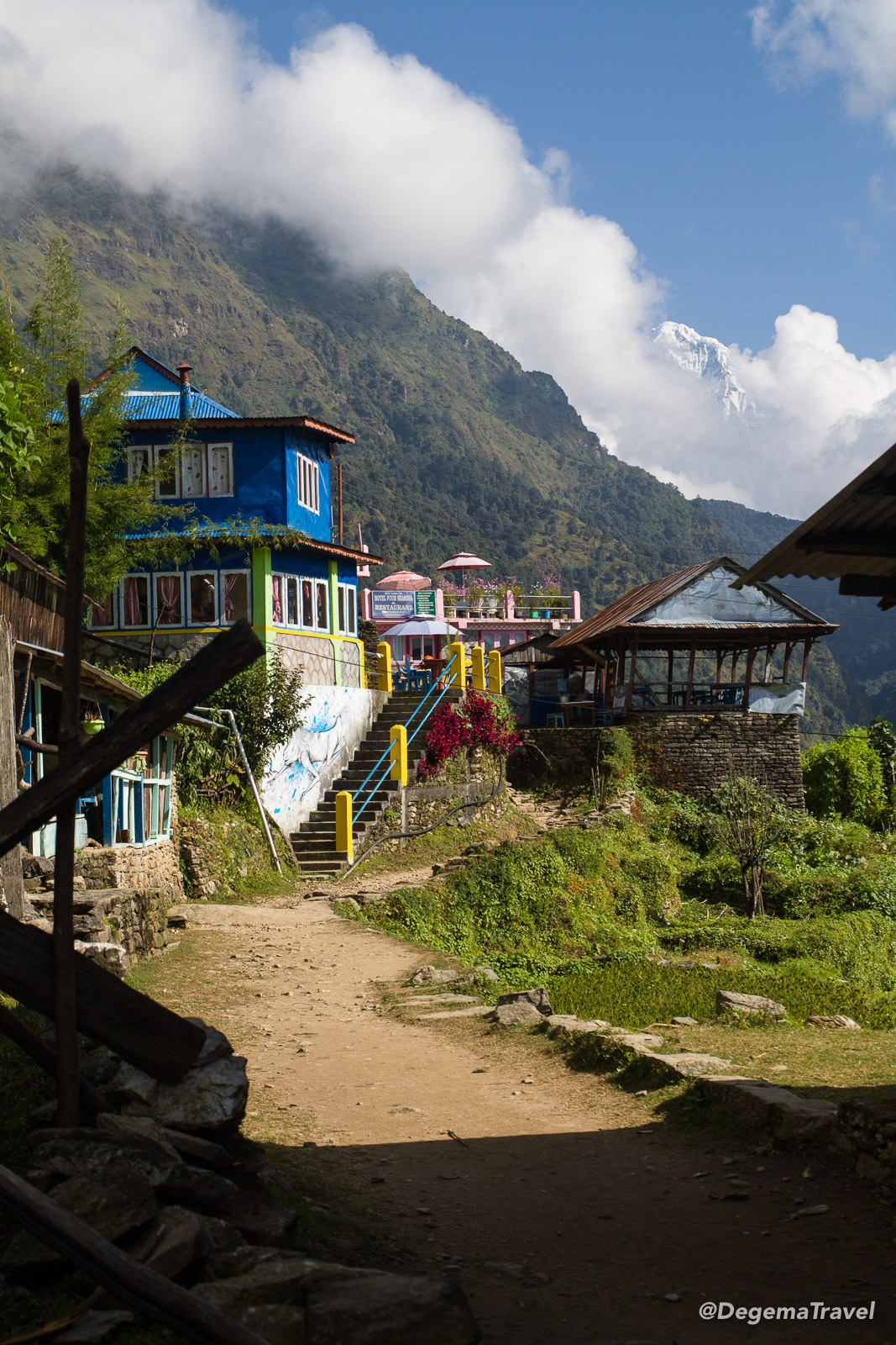 Ulleri in the Annapurna Conservation Area, Nepal
