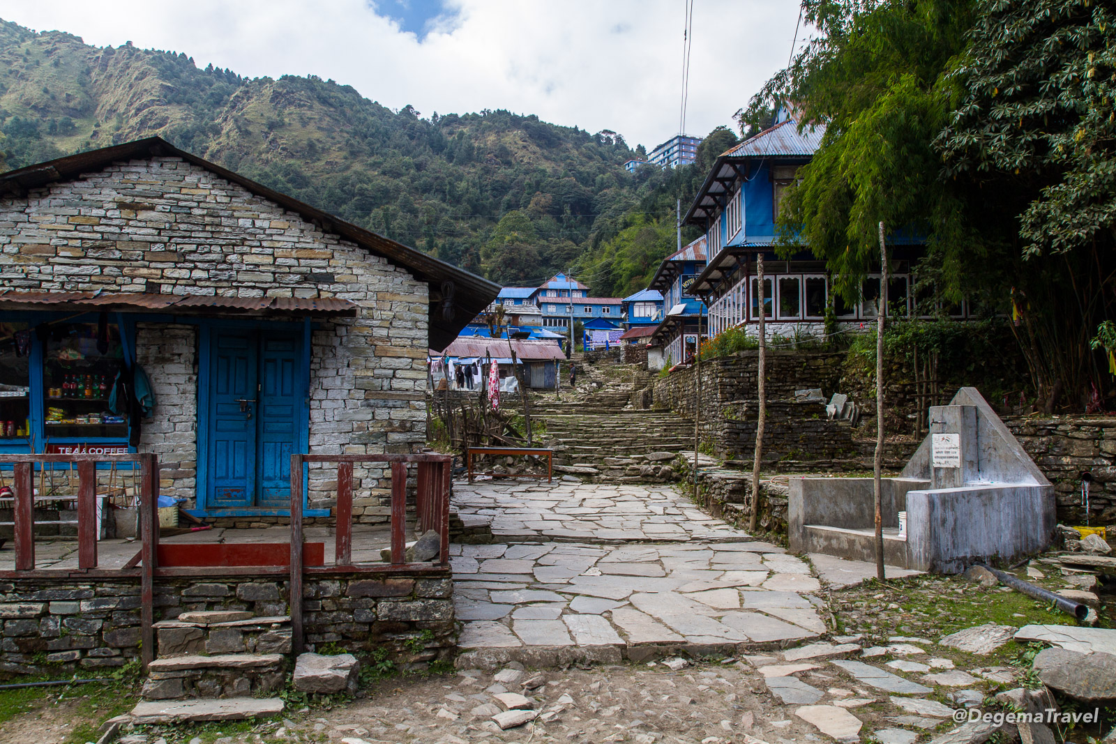 Ghorepani in the Annapurna Conservation Area, Nepal