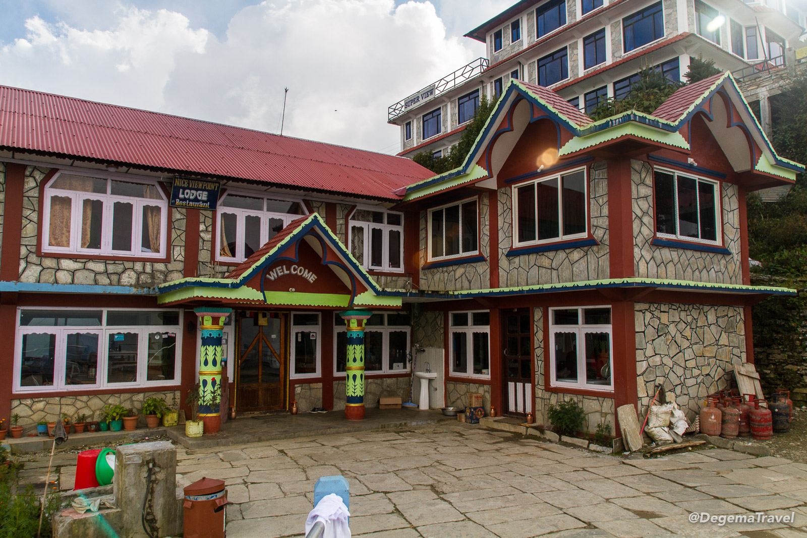 My guesthouse in Ghorepani in the Annapurna Conservation Area, Nepal